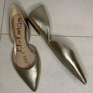 Sam Edelman d'orsay pointed toe flats size 8